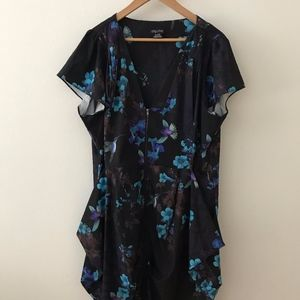 Plus Size dress in floral print